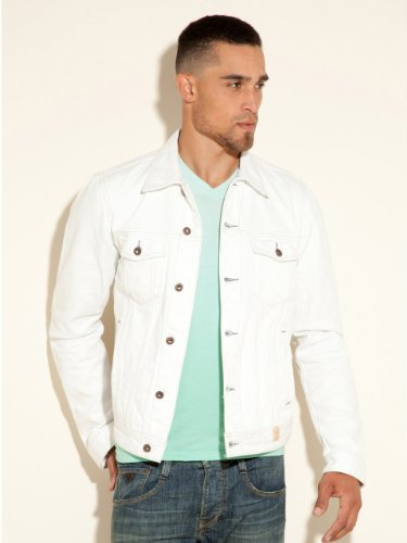 Our classic destroyed denim jacket in white. 2 easy ways to return in U.S. & Canada 1. RETURN TO A STORE (IT'S FREE!) Whether you bought your items online, by phone or in any of our stores, you can return or exchange them at any AEO, Aerie or AEO Factory store in the United States and Canada.