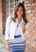 White Jean Jacket Outfits
