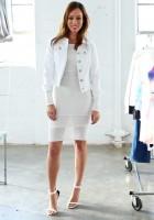 White Jean Jacket Style