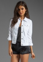 White Jean Jacket Women