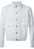 White Jean Jacket for Men