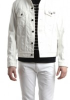 White Jean Jackets for Men