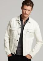 White Jeans Jacket for Men