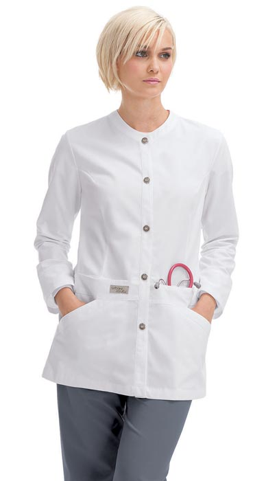 Mens White Denim Jacket