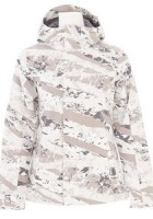 White Snow Camo Jacket