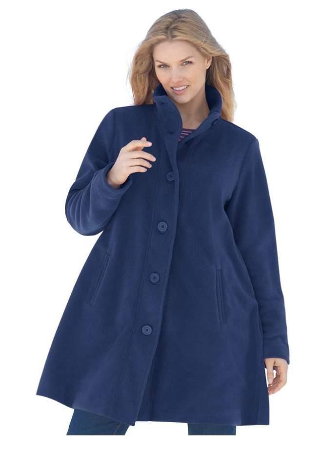 Plus Size Fashion Winter Coats