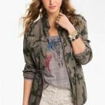 Women Camouflage Jacket
