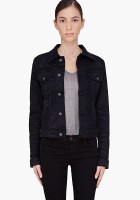 Womens Black Jean Jacket
