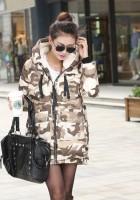 Womens Camo Jacket Fashion