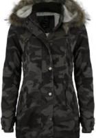 Womens Camo Jacket with Hood