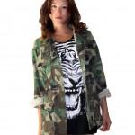 Womens Camouflage Jacket