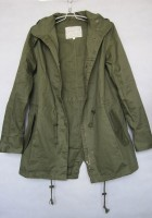 Womens Green Military Jacket