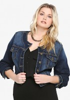 Womens Jean Jackets Plus Size