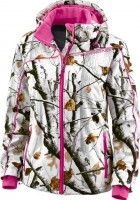 Womens Snow Camo Jacket