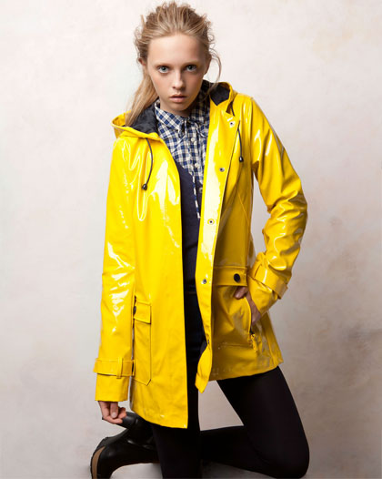 Yellow Rain Jacket for Women – Jackets