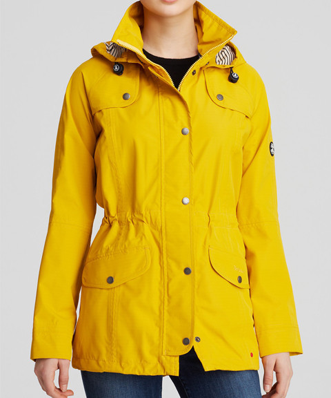 Womens Yellow Rain Jacket Photo Album - Reikian