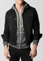 Black Denim Jacket Men
