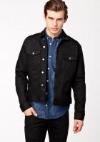 Black Denim Jacket Mens