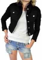 Black Jean Jackets for Women