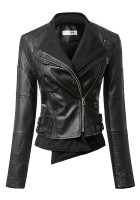 Black Leather Jacket for Girls