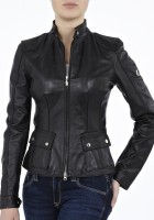 Black Leather Jackets Womens