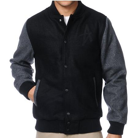 Black Varsity Jackets Jackets