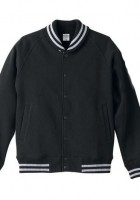 Black Varsity Jacket Men