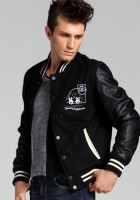 Black Varsity Jackets for Men