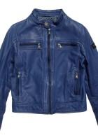 Blue Leather Jacket Kids