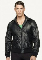 Bomber Jacket Men Leather
