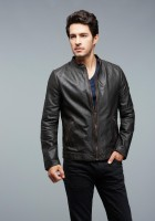 Bomber Leather Jacket Mens