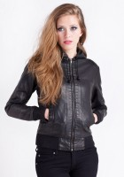 Bomber Leather Jacket Womens