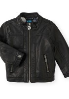 Boys Faux Leather Jacket