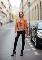 Brown Leather Jacket Outfit