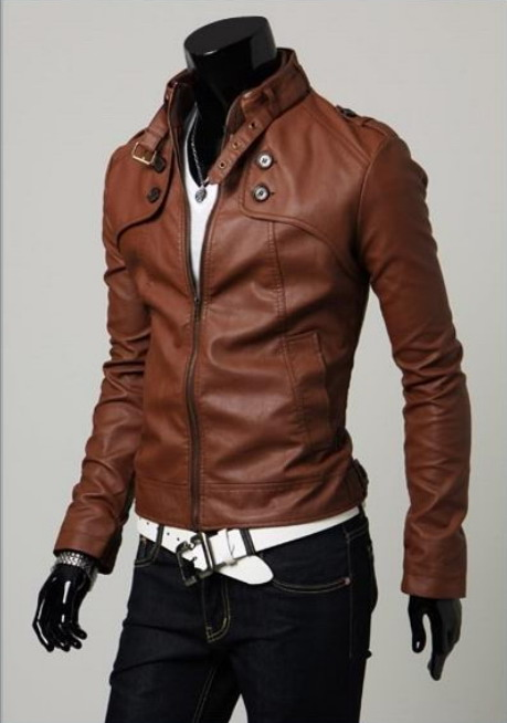 Brown Jacket For Mens Photo Album - Reikian