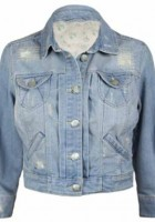 Cropped Denim Jacket for Women