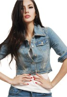 Cropped Denim Jackets for Women
