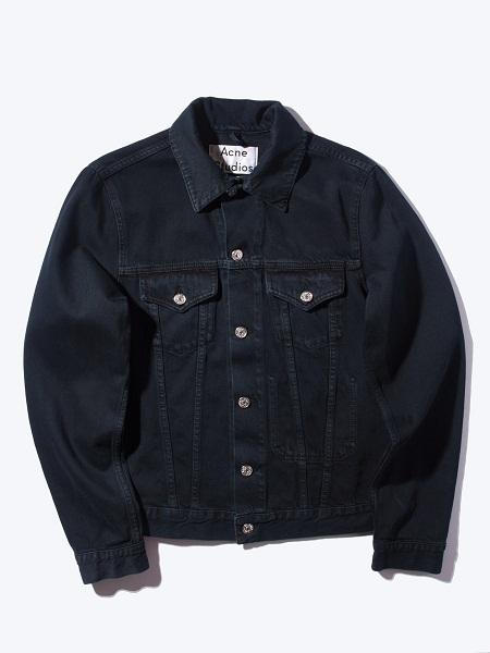 Womens Black Jean Vest
