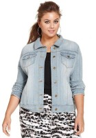Denim Jacket Plus Size