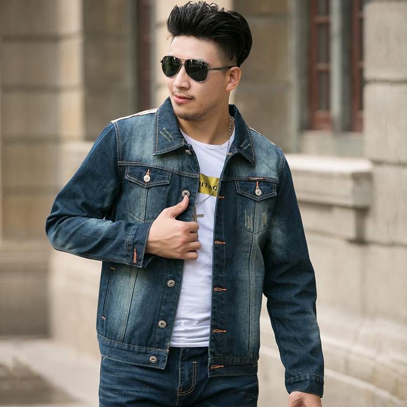 Mens Denim Jacket Style - Coat Nj