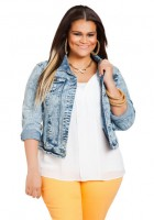 Denim Jackets Plus Size