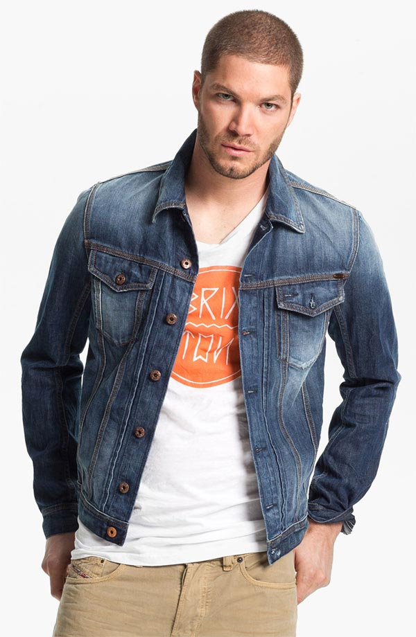 Jean Jacket For Guys | Outdoor Jacket