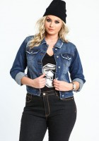 Denim Jackets for Plus Size