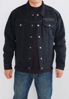 Denim Motorcycle Jacket Men