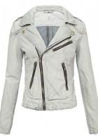 Denim Motorcycle Jacket Women