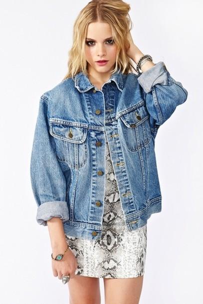 Oversized Denim Jackets Jackets