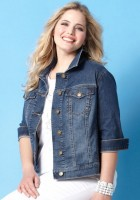 Denim Plus Size Jackets