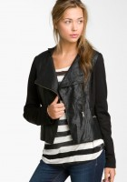 Faux Leather Jacket Juniors