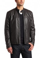 Faux Leather Jacket Mens