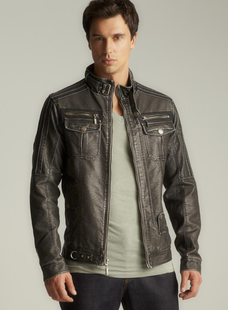 Faux leather jackets for boys